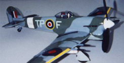Kit # 29. Hawker Typhoon IB. WW2 British Fighter and Attack Plane