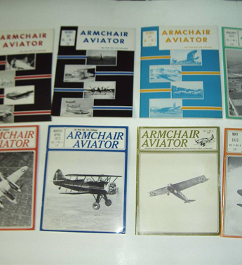 Group of Aviation Magazines