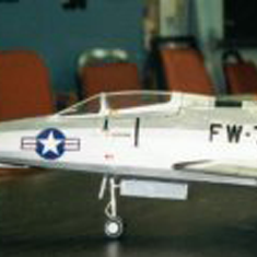 KIT # 16. NORTH AMERICAN F-100 SUPER SABRE JET
