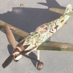 KIT # 21. MESSERSCHMITT Bf-109E