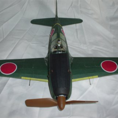 KIT #41 THE MITSUBISHI J2M3 RAIDEN (THUNDERBOLT), OR JACK, WW2 JAPANESE LAND BASED NAVY FIGHTER