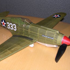 KIT # 42 CURTISS P-40B/C WARHAWK